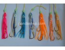 M&W Squid with hooks (7pcs)  mixed colors