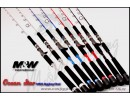 M&W Ocean Star Jigging Rod MKII 54S-SS,Silver color