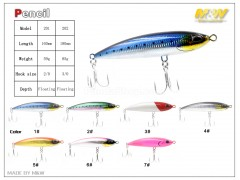 M&W Pencil Lure
