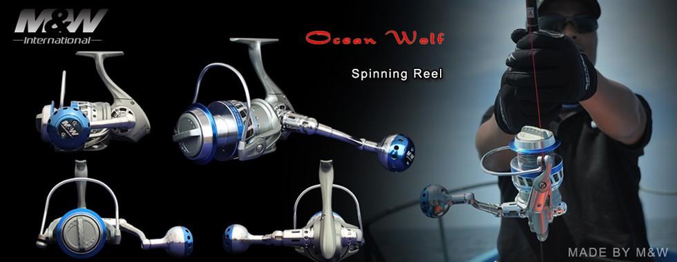 Ocean wolf spinning reel