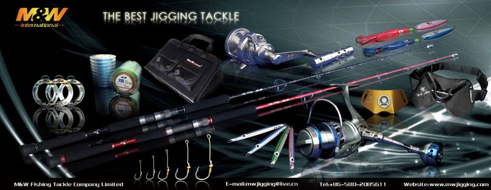 The best jigging tackle