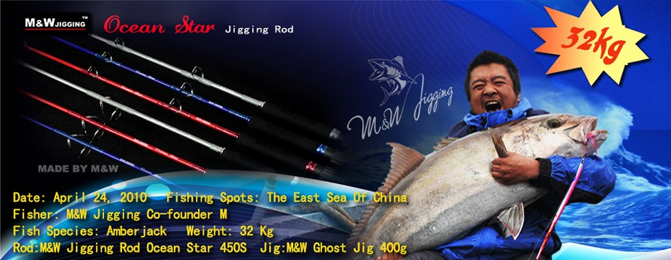 Ocean Star jigging rod
