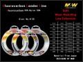 M&W Fluorocarbon Leader Line(50%)
