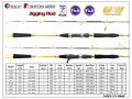 M&W Ocean Fighter MKIII Jigging Rod(Gold)