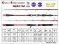 M&W Ocean Fighter MKIII Jigging Rod(Red)
