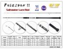 M&W POSEIDON II Saltwater Lure Rod(new)